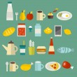 Food icon set. — Stock Vector #41557033