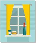 Domov, sladký domov. — Stock vektor