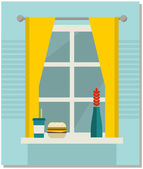 Home, sweet home. — Stock Vector