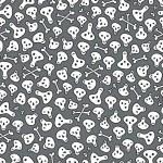 Skulls and bones seamless pattern. — Stock Vector #4536968