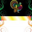 Thanksgiving Background 8 — Imagens vectoriais em stock