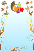 Thanksgiving Background 5 — Stock Vector