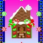 Christmas Gingerbread House 3 — Stock Vector