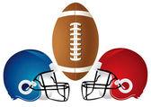 Football Helmet Design — Stock Photo