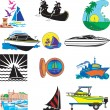 Boats — Stock Vector #3116719