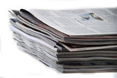 Newspapers and magazines — Foto de Stock