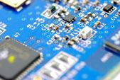 Dispositivos e componentes eletrônicos — Fotografia Stock