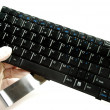 Keyboard for a computer — Stock Photo