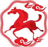 Horse design illustration — Stock Vector
