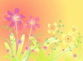 Spring Flower design — Stock Vector