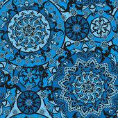 Floral ornament — Cтоковый вектор
