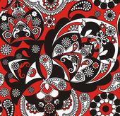 Floral pattern — Stockvektor