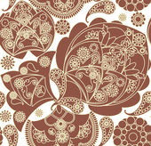 Floral pattern — Stock Vector