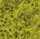 Motivo floral — Vettoriale Stock