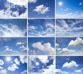Mraky panorama pack — Stock fotografie