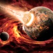 Royalty-Free Stock Photo: Planet Earth Apocalypse