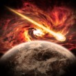 Planet Earth Apocalypse — Stock Photo