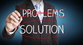 Negocios concepto de la solución — Foto de Stock