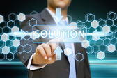 Bussinessman solution concept — Foto Stock