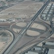 Aerial view of an interstate connector in Las Vegas — Stock Photo