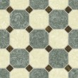Green and earth tone ceramic tile bathroom floor - seamless texture perfect for 3D modeling and rendering — Zdjęcie stockowe
