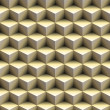 3D cube pyramid background - seamless texture perfect for 3D modeling and rendering — Stock Photo