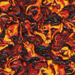 Red-hot molten lava flow - seamless texture perfect for 3D modeling and rendering — Stock Photo