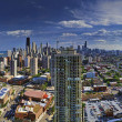 Northern Chicago Skyline — Stock Photo