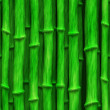 Stock Photo: Lush green bamboo stalks - seamless texture