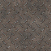 Aged alloy anti-slip steel diamond floor - seamless texture perfect for 3D modeling and rendering — Stock Photo