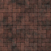 Traditional brick pavement - seamless texture perfect for 3D modeling and rendering — Stock Photo