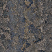 A grungy corroded metal plate with rust and peeling paint patches - great texture for 3D modeling and rendering — Stockfoto