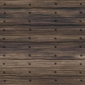Old nailed wood planks - seamless texture perfect for 3D modeling and rendering — Stock Photo
