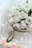 Detalle del ramo de la boda — Foto de Stock