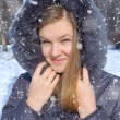 Winter girl — Lizenzfreies Foto