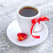 Coffee is done with love for sweet one — Stock Photo #19359089