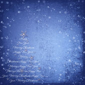 Christmas background on texture of paper with space for text — Stock Photo