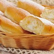 Italian buns with sweet cream — Stock Photo #41487037
