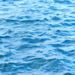 Blue sea surface with waves — Stock Photo