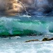Stock Photo: Ocestorm