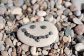 Moře kameny pozadí — Stock fotografie