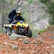 Stock Photo: Travel on ATVs