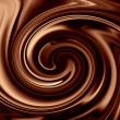 chocolate background — Stock Photo