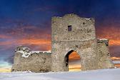 Stary zamek ściana — Zdjęcie stockowe