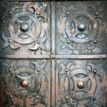Old metal and rusty door — Stock Photo #46971023