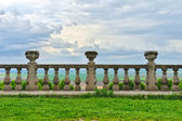 Ancient architecture of ancient railings — Stock Photo
