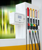Petrol pump station — Stock Photo