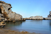 St paul bay, rhodes, griekenland — Stockfoto