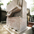 PARIS, JULY 6: Oscar Wilde's tomb located in Pere Lachaise Cemet — Stock Photo