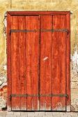 Old vintage door — Stock Photo